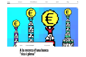 """A la recerca d'una banca """"rica i plena"""""""