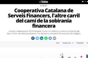 "La Cooperativa, en un article al digital ""El Món"""