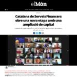 """La nova etapa de la Cooperativa, notícia al diari """"el Món"""""""