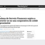Naciódigital publica un article sobre l'ampliació de capital de la cooperativa
